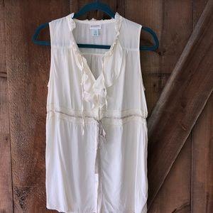 Motherhood Maternity vintage style blouse size M